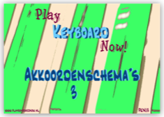 Akkoordenschema's 3
