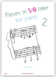 Pieces in 5/8 time for piano 2