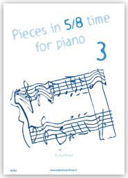 Pieces in 5/8 time for piano 3