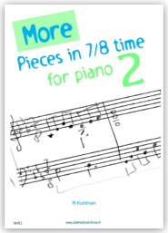 More Pieces in 7/8 time for piano 2